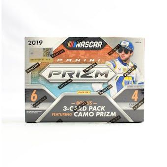 2019 Panini Prizm Racing 7-Pack Blaster Box