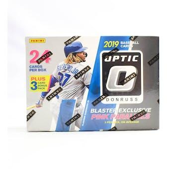 2019 Panini Donruss Optic Baseball 7-Pack Blaster Box (Lot of 3)