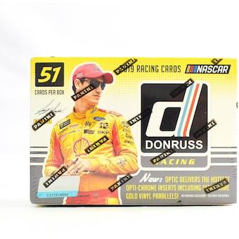 2019 Panini Donruss Racing 7-Pack Blaster Box (Lot of 5)