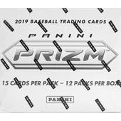 2019 Panini Prizm Baseball Cello Multi 12-Pack Box