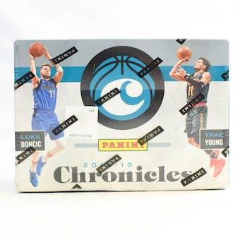 2018/19 Panini Chronicles Basketball 8-Pack Blaster Box