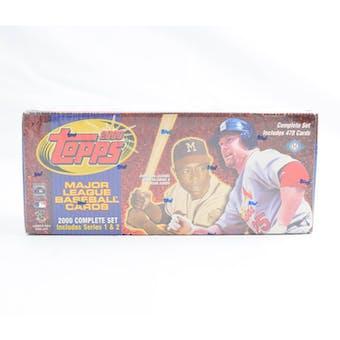 2000 Topps Baseball Hobby Factory Set (Box) (Brown) (Reed Buy)