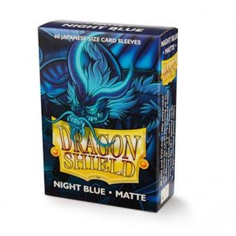 Dragon Shield Yu-Gi-Oh! Size Card Sleeves - Matte Night Blue (60)
