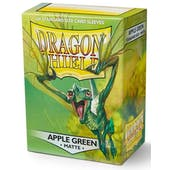 Dragon Shield Card Sleeves - Matte Apple Green (100)