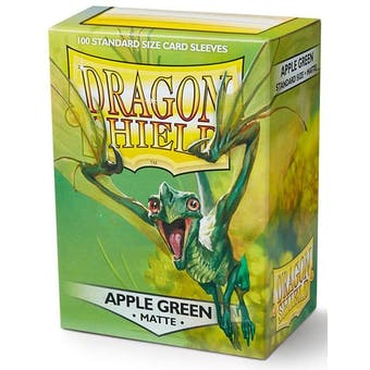 Dragon Shield Card Sleeves - Matte Apple Green (100)