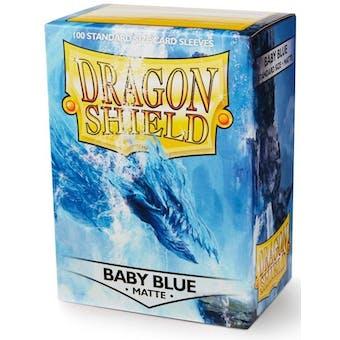 Dragon Shield Card Sleeves - Matte Baby Blue (100)