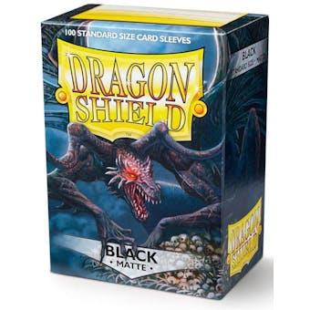 Dragon Shield Card Sleeves - Matte Black (100)