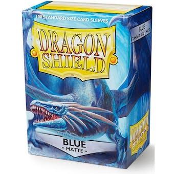 Dragon Shield Card Sleeves - Matte Blue (100)