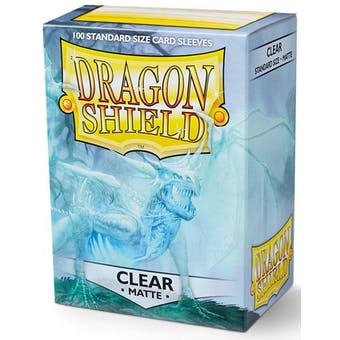 Dragon Shield Card Sleeves - Matte Clear (100)