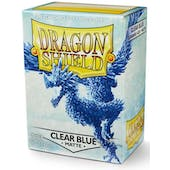 Dragon Shield Card Sleeves - Matte Clear Blue (100)
