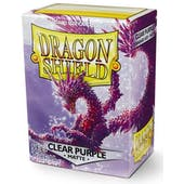 Dragon Shield Card Sleeves - Matte Clear Purple (100)