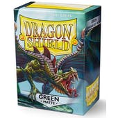 Dragon Shield Card Sleeves - Matte Green (100)