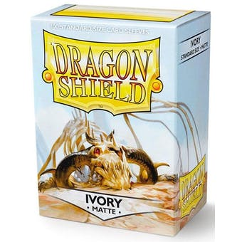Dragon Shield Card Sleeves - Matte Ivory (100)