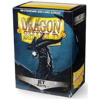 Dragon Shield Card Sleeves - Matte Jet (100)