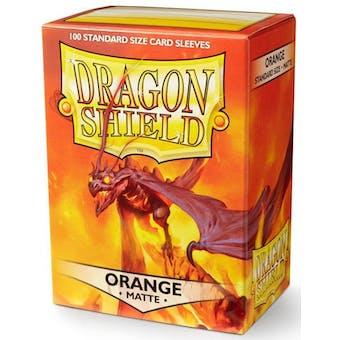 Dragon Shield Card Sleeves - Matte Orange (100)