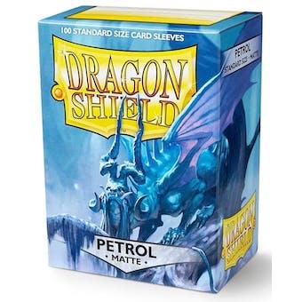 Dragon Shield Card Sleeves - Matte Petrol (100)