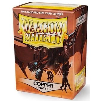 Dragon Shield Card Sleeves - Matte Copper (100)