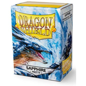 Dragon Shield Card Sleeves - Matte Sapphire (100)