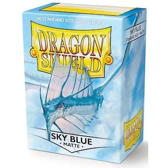 Dragon Shield Card Sleeves - Matte Sky Blue (100)