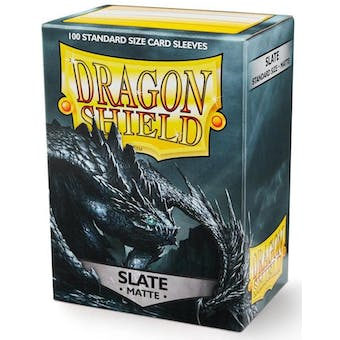 Dragon Shield Card Sleeves - Matte Slate (100)