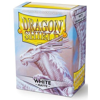 Dragon Shield Card Sleeves - Matte White (100)