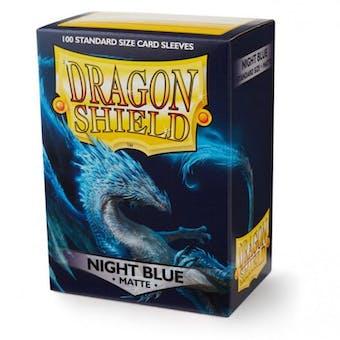 Dragon Shield Card Sleeves - Matte Night Blue (100)