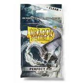 Dragon Shield Card Sleeves Perfect Fit - Clear (100 Ct.)