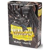 Dragon Shield Yu-Gi-Oh! Size Card Sleeves - Matte Black (60)
