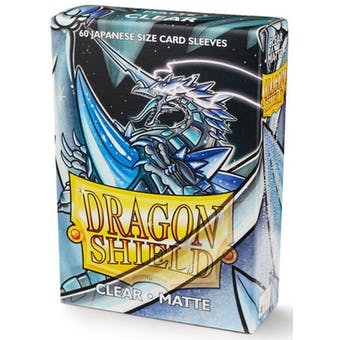 Dragon Shield Yu-Gi-Oh! Size Card Sleeves - Matte Clear (60)