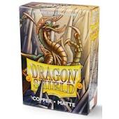 Dragon Shield Yu-Gi-Oh! Size Card Sleeves - Matte Copper (60)