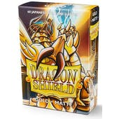 Dragon Shield Yu-Gi-Oh! Size Card Sleeves - Matte Gold (60)