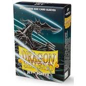 Dragon Shield Yu-Gi-Oh! Size Card Sleeves - Matte Jet (60)