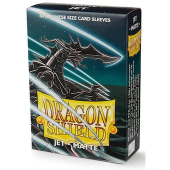 Dragon Shield Yu-Gi-Oh! Size Card Sleeves - Matte Jet (60)