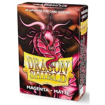 Dragon Shield Yu-Gi-Oh! Size Card Sleeves - Matte Magenta (60)