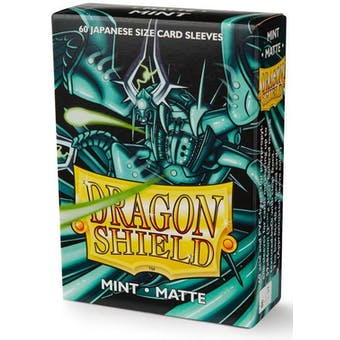 Dragon Shield Yu-Gi-Oh! Size Card Sleeves - Matte Mint (60)
