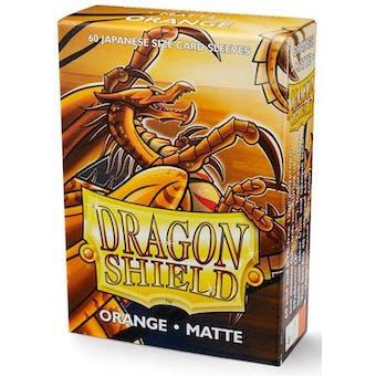 Dragon Shield Yu-Gi-Oh! Size Card Sleeves - Matte Orange (60)