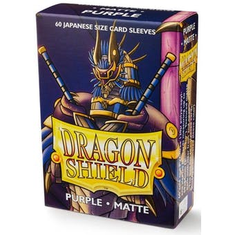 Dragon Shield Yu-Gi-Oh! Size Card Sleeves - Matte Purple (60)
