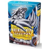 Dragon Shield Yu-Gi-Oh! Size Card Sleeves - Matte Silver (60)