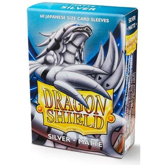 Dragon Shield Yu-Gi-Oh! Size Card Sleeves - Matte Silver (60)