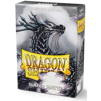 Dragon Shield Yu-Gi-Oh! Size Card Sleeves - Matte Slate (60)
