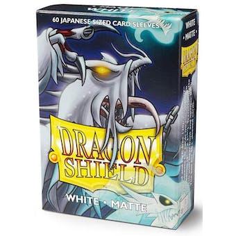 Dragon Shield Yu-Gi-Oh! Size Card Sleeves - Matte White (60)