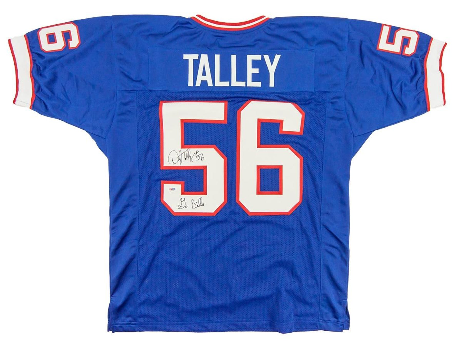 more photos 26aee 34cbb Darryl Talley Autographed Buffalo Bills Football Jersey (PSA COA)
