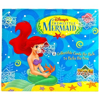 1997 Upper Deck Little Mermaid Retail Box