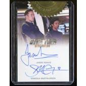 Star Trek Discovery Season 1 Jason Isaacs / Sonequa Martin-Green Dual Autograph Incentive Card