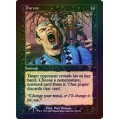 Magic the Gathering 7th Edition Single Duress Foil - MODERATE PLAY (MP)