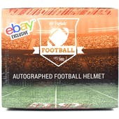 2018 Hit Parade Autographed Full Size Football Helmet Hobby Box - EBAY EDITION - Brady, Rodgers, & Mayfield!!!