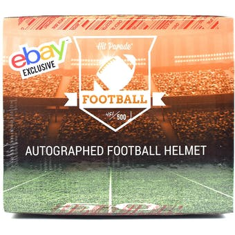 2018 Hit Parade Autographed Full Size Football Helmet Hobby Box - EBAY EDITION - Brady, Rodgers, & Mayfield!!!