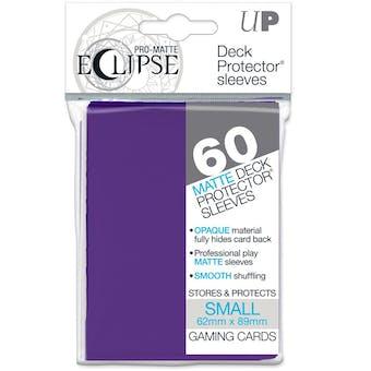 Ultra Pro Matte Eclipse Yu-Gi-Oh! Size Card Sleeves - Royal Purple (60 Ct.)