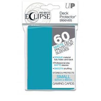 Ultra Pro Matte Eclipse Yu-Gi-Oh! Size Card Sleeves - Sky Blue (60 Ct.)