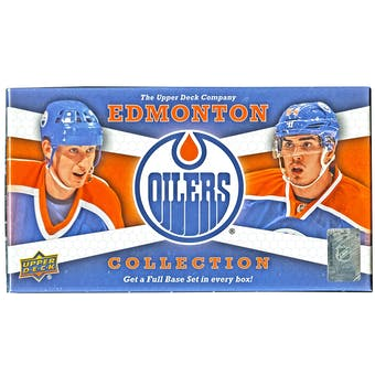 2013-14 Upper Deck Edmonton Oilers Collection Hockey Hobby Box